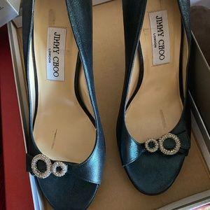 Jimmy Choo elegant heels..39.5